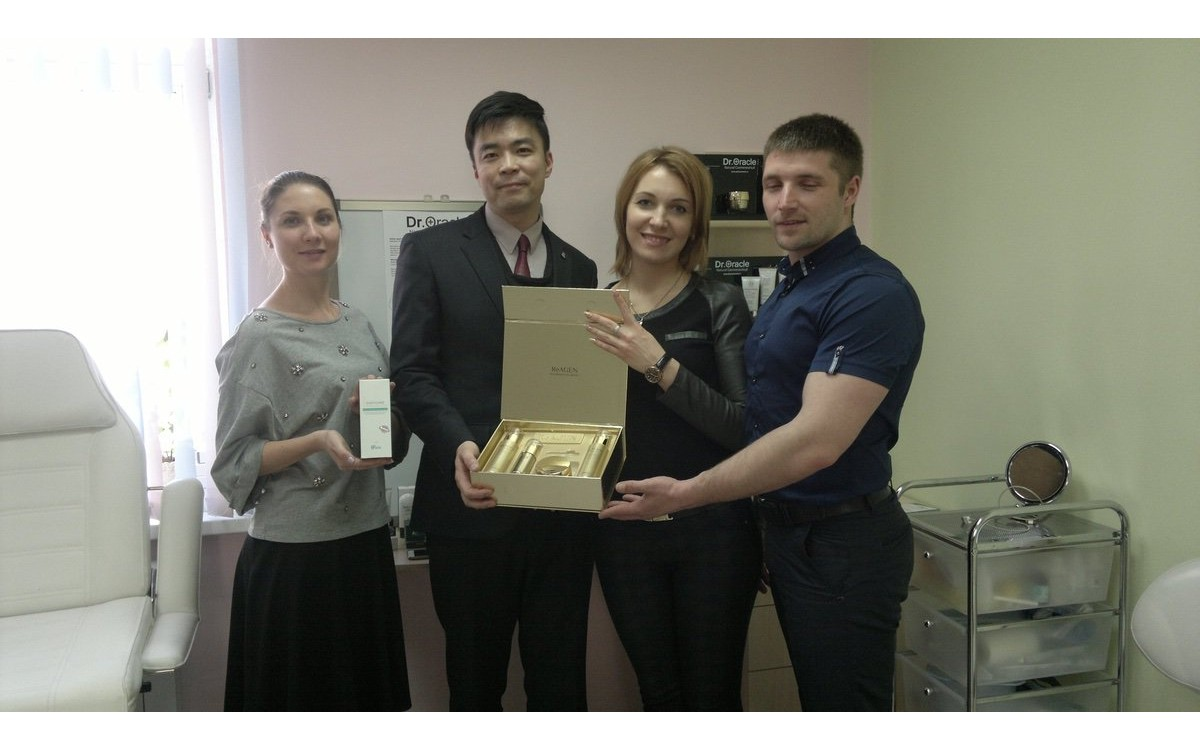 Презентация продукции Dr.Oracle во Владивостоке и Хабаровске