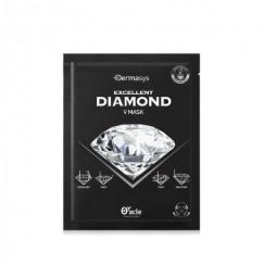 DERMASYS  Лифтинг - маска для коррекции овала лица с алмазной пудрой